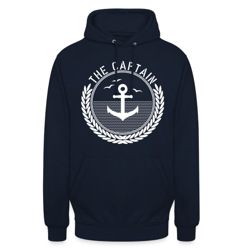 The Captain - Anchor - Unisex Hoodie