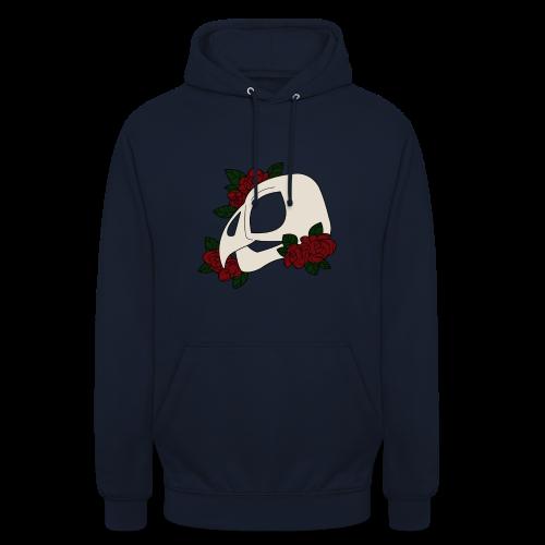 Chouette en Fleur - Sweat-shirt à capuche unisexe