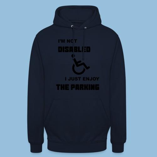 notdisabled1 - Hoodie unisex