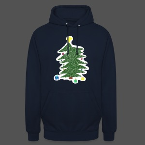 Christmas Kids-Drawing - Unisex Hoodie
