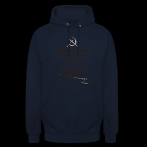 Keep Calm Take an Axe and Slay -couleur - Sweat-shirt à capuche unisexe