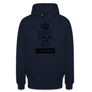 keep calm and go canyoning 2 - Unisex Hoodie