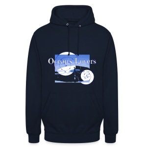 Ocean's Lovers - Sweat-shirt à capuche unisexe