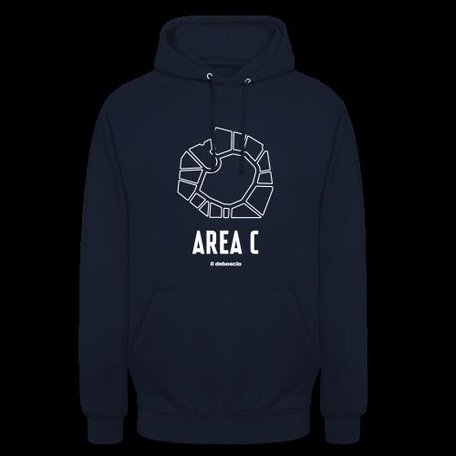 AREA C - Felpa con cappuccio unisex