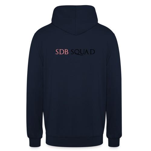 SDB SQUAD - Felpa con cappuccio unisex