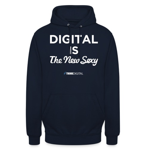 Digital is the New Sexy - Felpa con cappuccio unisex