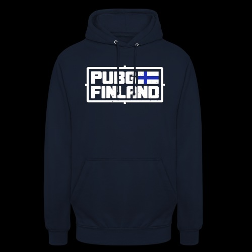 """PUBG Finland white - Huppari """"unisex"""""""