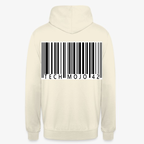 TM graphic Barcode Answer to the universe - Unisex Hoodie