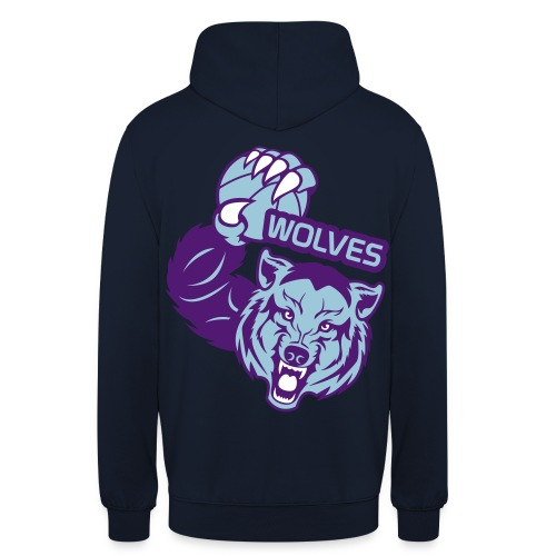 Wolves Basketball - Sweat-shirt à capuche unisexe