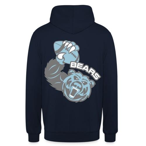 Bears Rugby - Sweat-shirt à capuche unisexe