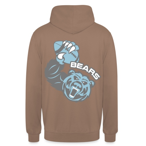 Bears Rugby - Sweat-shirt à capuche unisexe