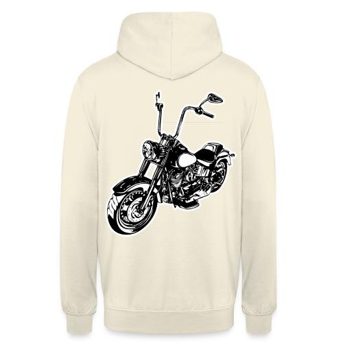 Moto Softail - Sudadera con capucha unisex