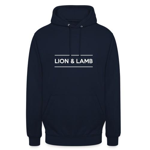 Lion & Lamb | light - Unisex Hoodie