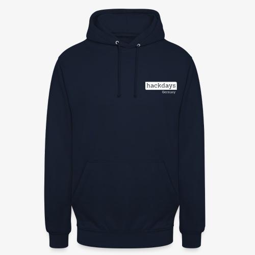 Hackdays - White Logo - Unisex Hoodie
