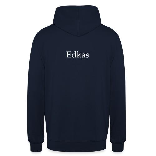 Edkas - Sweat-shirt à capuche unisexe