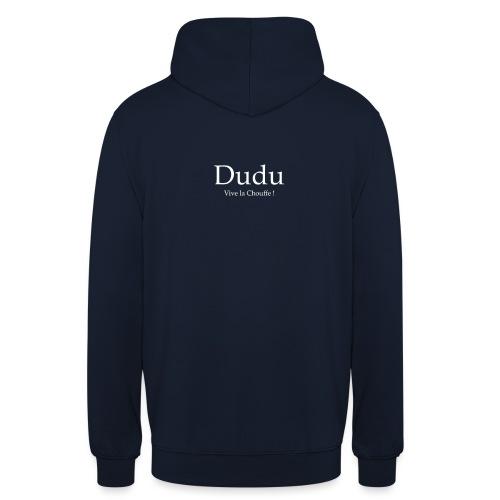 Dudu vive la chouffe - Sweat-shirt à capuche unisexe