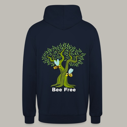 Bee Free - Sweat-shirt à capuche unisexe