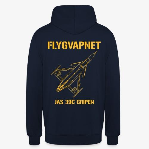FLYGVAPNET - JAS 39C - Luvtröja unisex