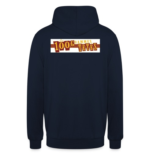 logo 100g de têtes copie jpg - Sweat-shirt à capuche unisexe