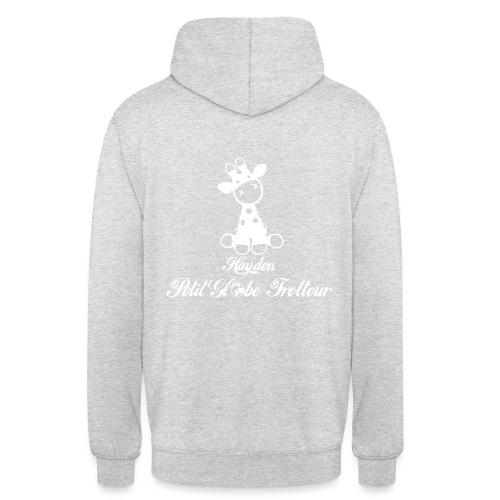 Hayden petit globe trotteur - Sweat-shirt à capuche unisexe