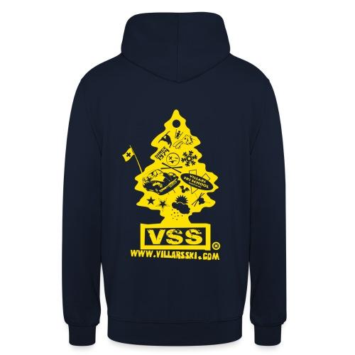Logo sapin jaune png - Sweat-shirt à capuche unisexe