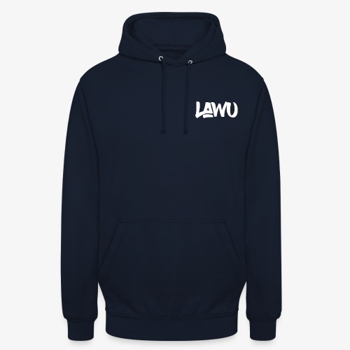 logoW png - Sweat-shirt à capuche unisexe