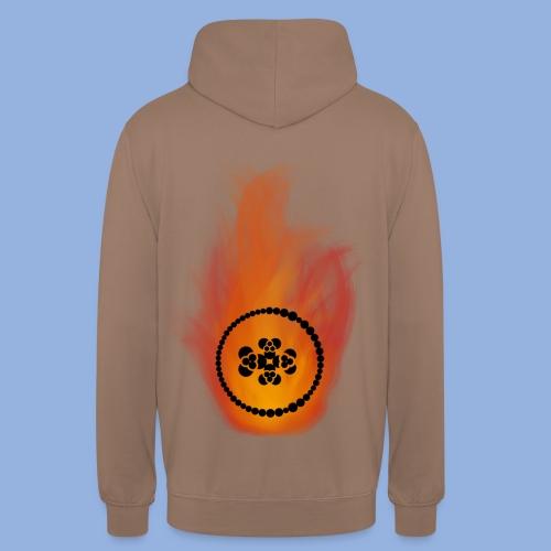 Smell like teen spirit Fire - Sweat-shirt à capuche unisexe