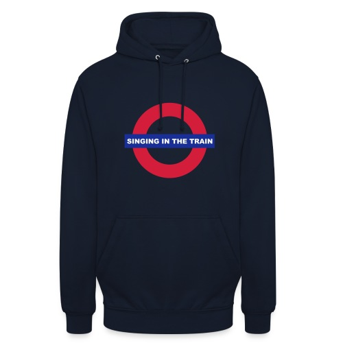 Singing in the train - Unisex Hoodie