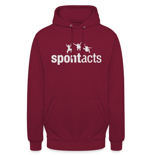spontacts_Logo_weiss - Unisex Hoodie
