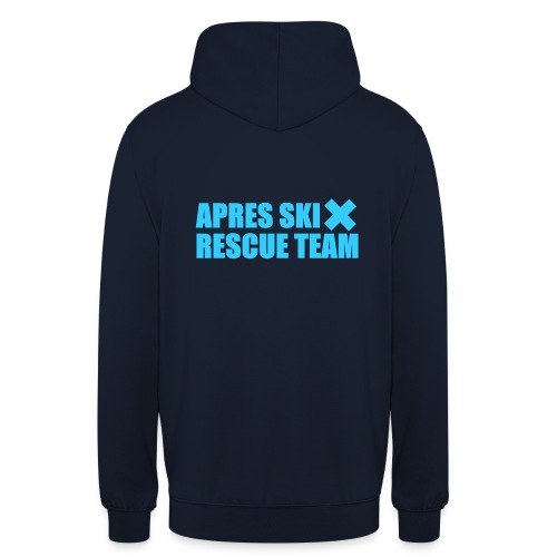 RESCUETEAM_BLUE - Sweat-shirt à capuche unisexe