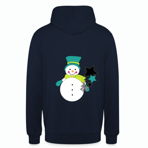Snowtime-Green - Unisex Hoodie