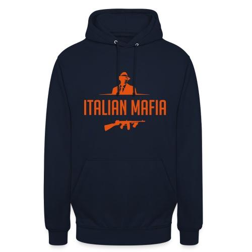 italian mafia - Felpa con cappuccio unisex