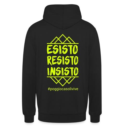 patch resisto - Felpa con cappuccio unisex
