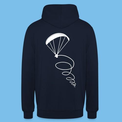 Paragliding Thermik Geschenk Pilot - Unisex Hoodie