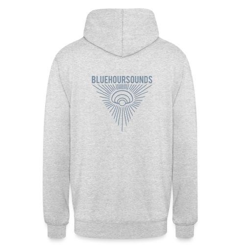 New Blue Hour Sounds logo triangle - Unisex Hoodie