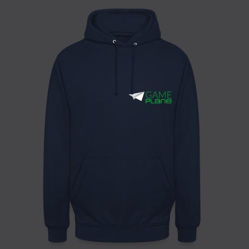 Gameplane Logo groß grün - Unisex Hoodie