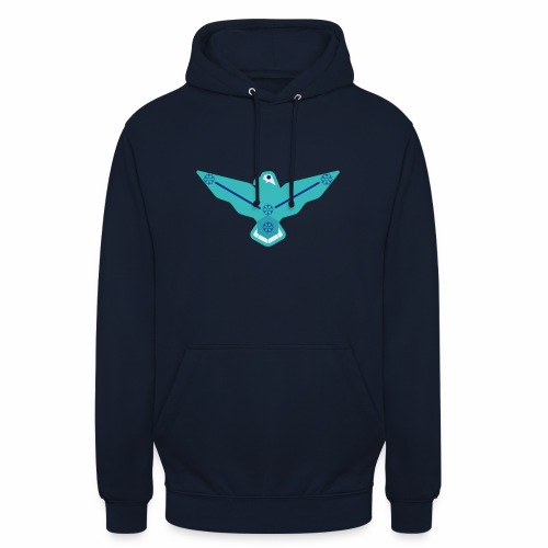 the nordic eagle merch - Unisex-hettegenser