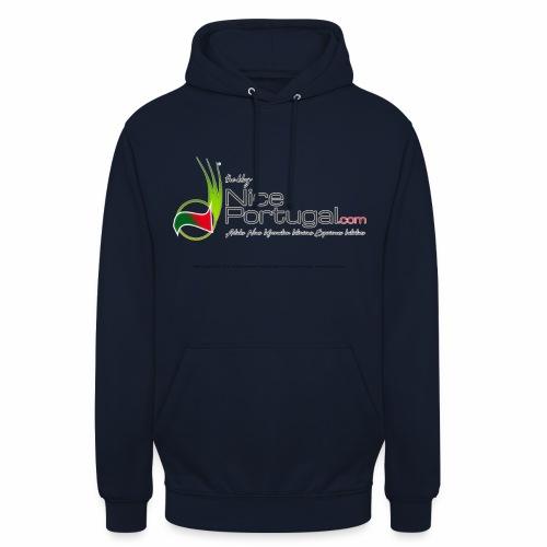 NicePortugal.com Logo - Felpa con cappuccio unisex