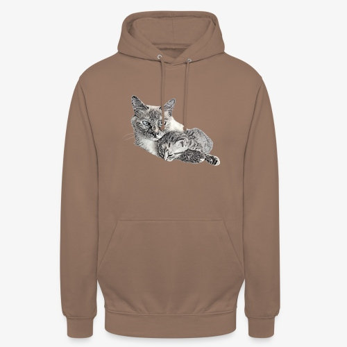 Snow and her baby - Unisex Hoodie
