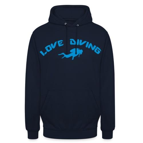 love diving - Unisex Hoodie