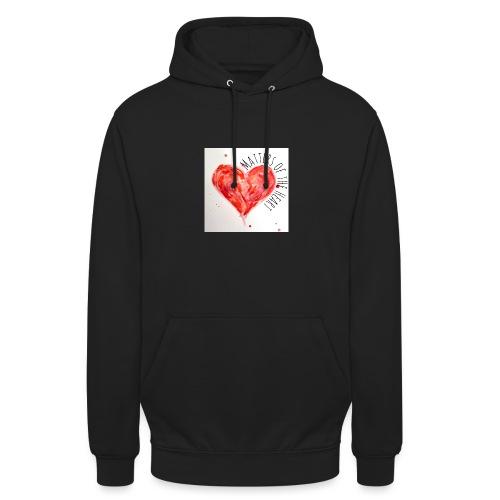 Matters of the Heart - Luvtröja unisex