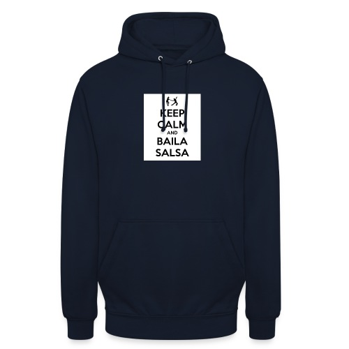 keep-calm-and-baila-salsa-41 - Felpa con cappuccio unisex