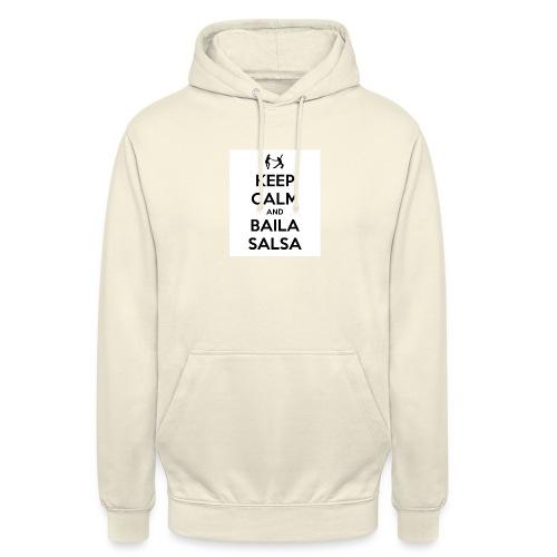 keep-calm-and-baila-salsa-41 - Felpa con cappuccio unisex