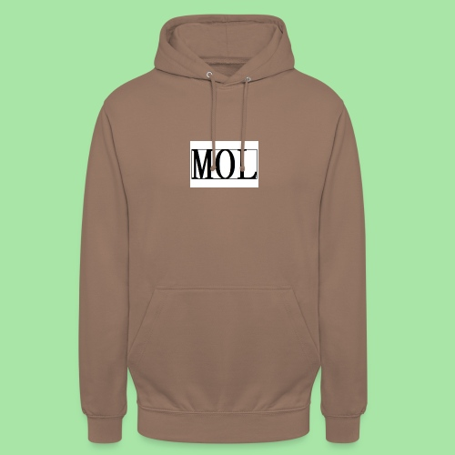MOL - Sweat-shirt à capuche unisexe