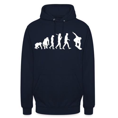 evolution_of_snowboarding - Hoodie unisex