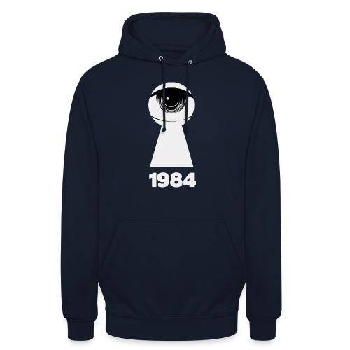 1984 - Felpa con cappuccio unisex