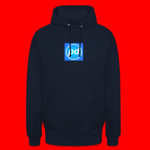 pd Blue V2 - Hættetrøje unisex