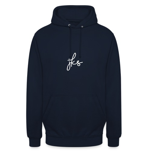 JKS_Logo_White - Unisex Hoodie