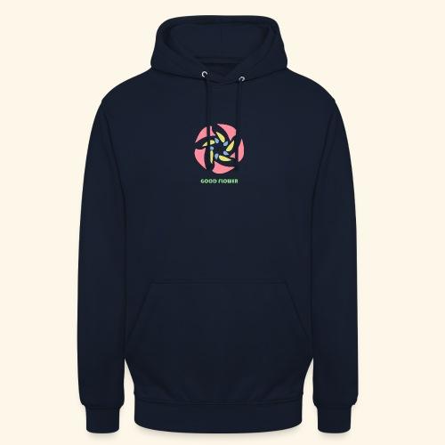 GOOD FLOWER - Sudadera con capucha unisex
