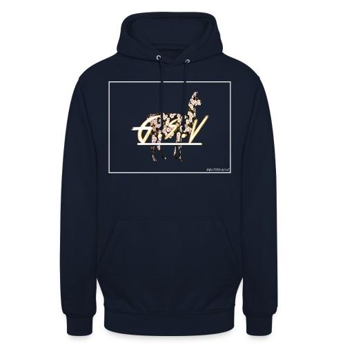 gsv fleur - Sweat-shirt à capuche unisexe